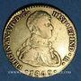Coins Espagne. Ferdinand VII (1808-1833). 2 escudos 1809S CN. Séville. (PTL 875‰. 6,77 g)