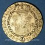 Coins Espagne. Ferdinand VII (1808-1833). 2 escudos 1831JB. Séville. (PTL 875‰. 6,77 g)