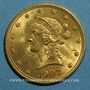 Coins Etats Unis. 10 dollars 1907. (PTL 900‰. 16,71 g)
