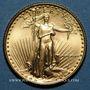 Coins Etats Unis. 10 dollars MCMLXXXVI (1986). (PTL 917‰. 8,48 g)