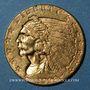 Coins Etats Unis. 2 1/2 dollars 1928. Tête d'indien. (PTL 900‰. 4,18 g)