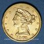 Coins Etats Unis. 5 dollars 1903 S. San Francisco. (PTL 900‰. 8,36 g)
