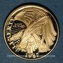 Coins Etats Unis. 5 dollars (half eagle) 1987W. Bicentenaire de la Constitution. (PTL 900‰. 8,36 g)