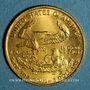 Coins Etats Unis. 5 dollars MCMLXXXVI (1986). (PTL 916,7‰. 1/10 once)