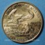 Coins Etats Unis. 5 dollars MCMXCI (1991). (PTL 917‰. 3,39 g)