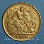 Coins Grande Bretagne. Edouard VII (1901-1910). 1/2 souverain 1904. (PTL 917‰. 3,99 g)