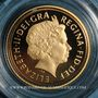 Coins Grande Bretagne. Elisabeth II (1952- ). 1/2 souverain 2011. (PTL 917‰. 3,99 g)