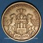 Coins Hambourg. 20 mark 1877 J. (PTL 900‰. 7,96 g)