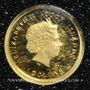 Coins Iles Cook. Elisabeth II (1952 -/). 1 dollar 2012 (PTL 999‰. 0,5 g)