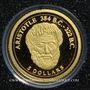 Coins Iles Cook. Elisabeth II (1952 -/). 5 dollars 2008 (PTL 999‰. 0,5 g)