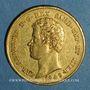 Coins Italie. Sardaigne. Charles Albert (1831-1849). 20 lires 1849 P. Gênes. (PTL 900‰. 6,45 g)