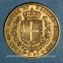 Coins Italie. Sardaigne. Charles Albert (1831-1849). 20 lires 1849 P. Turin. (PTL 900‰. 6,45 g)