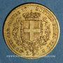Coins Italie. Sardaigne. Victor Emmanuel II (1849-1861). 20 lires 1851 B. Turin. (PTL 900‰. 6,45 g)