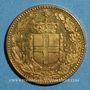 Coins Italie. Umberto I (1878-1900). 20 lires 1/1891 R. Rome. (PTL 900‰. 6,45 g)