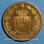 Coins Italie. Umberto I (1878-1900). 20 lires 1891 R oro rosso. Rome . (PTL 900‰. 6,45 g)