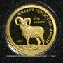 Coins Mongolie. République. 500 tugrik 2013 (PTL 999‰. 0,5 g)