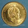 Coins Pays Bas. Wilhelmine (1890-1948). 10 florins (= 10 gulden) 1933. (PTL 900‰. 6,72 g)