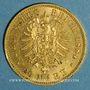Coins Prusse. Guillaume I (1861-1888). 20 mark 1884 A. (PTL 900‰. 7,96 g)