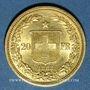 Coins Suisse. Confédération. 20 francs Helvetia 1883 B. (PTL 900‰. 6,45 g)