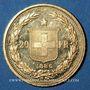 Coins Suisse. Confédération. 20 francs Helvetia 1886 B. (PTL 900‰. 6,45 g)