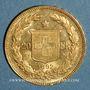 Coins Suisse. Confédération. 20 francs Helvetia 1892 B. (PTL 900‰. 6,45 g)