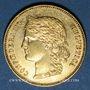 Coins Suisse. Confédération. 20 francs Helvetia 1896 B. (PTL 900‰. 6,45 g)