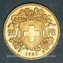 Coins Suisse. Confédération. 20 francs Vreneli 1930 B. (PTL 900‰. 6,45 g)