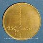 Coins Suisse. Confédération. 250 francs 1991 B. (PTL 900‰. 8 g)