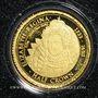 Coins Tristan Da Cunha. Elisabeth II (1952 -/). Half crown 2014 (PTL 999‰. 0,5 g)