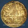 Coins Turquie. Ahmed III (1115-43H = 1703-1730). 5 ashrafi 1115H (= 1703). Constantinople