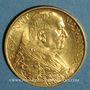 Coins Vatican. Pie XI (1922-1939). 100 lires 1932, an XI. (PTL 900‰. 8,80 g)