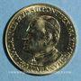 Coins Jean Paul II. Visite à Paris. 1980. Module de 20 francs. Médaille or. (PTL 750 ‰. 6,45 g)