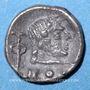 Coins Arabie Heureuse. Himyarites. Tha'ran Ya'ub. Fraction d'unité