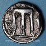Coins Bruttium. Crotone. Statère, 550-480 av. J-C