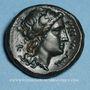 Coins Bruttium. Rhegium. Bronze, vers 351-280 av. J-C