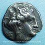 Coins Bruttium. Térina. 1/3 statère, 4e siècle av. J-C