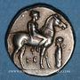Coins Calabre. Tarente. Didrachme, vers 380-345 av. J-C
