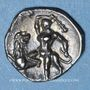 Coins Calabre. Tarente. Diobole, vers 280-228 av. J-C