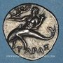 Coins Calabre. Tarente. Occupation punique. 1/2 shekel, vers 212-209 av. J-C