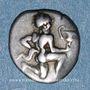 Coins Iles de Thrace. Thasos. Trihémiobole, vers 411-350 av. J-C