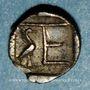 Coins Ionie. Colophon, vers 450-410 av. J-C. Tétartemorion