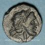 Coins Italie. Apulie. Salapia. Bronze, vers 225-210 av. J-C. 19,56 mm