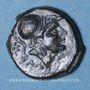 Coins Italie. Apulie. Salapia. Bronze, vers 225-210 av. J-C