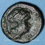 Coins Italie. Bruttium. Rhégium. Bronze, vers 350-270 av. J-C