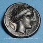 Coins Italie. Bruttium. Rhégium. Hemiobole, vers 415-387 av. J-C