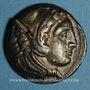 Coins Roy. de Macédoine. Alexandre III le Grand (336-323 av. J-C) Tétradrachme Amphipolis, 332-326 av J-C