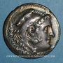 Coins Roy. de Macédoine. Alexandre III le Grand (336-323 av. J-C) Tétradrachme. Chios, 190-165 av J-C