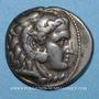 Coins Roy de Macédoine. Alexandre III le Grand (336-323 av. J-C). Tétradrachme. Sardes. 319-315 av. J-C
