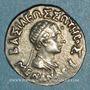 Coins Royaume de Bactriane. Ménandre (160-145 av. J-C). Drachme de poids indien. Pushkalavati