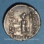 Coins Royaume de Cappadoce. Ariobarzanes I (96-63 av. J-C). Drachme, date hors flanc
